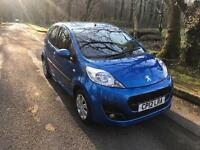 ***PEUGEOT 107 ACTIVE 2012 ONLY 54,000MILES***