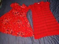 2 girls dresses age 2-3 years