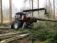 Hypro 755 Forestry Harvester Thinning Machine