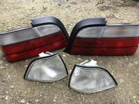 BMW E36 Coupe/Cab Clear Lenses