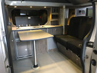 Campervan Rental, hire, 4 Birth, Pop-Top, Rock & roll bed, Renault trafic, like volkswagen vw t5 tv