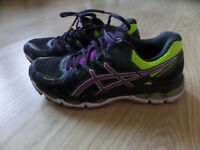 ASICS Gel-Kayano 21 Women's Running Shoes Size UK7 EU40.5 Black
