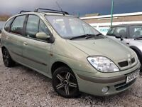 02 REG RENAULT MEGANE SCENIC 1.9 DCI LONG MOT LEATHERS PX-WELCOME