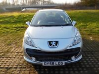 PEUGEOT 207 SPARES OR REPAIRS INSURANCE CATEGORY (S)