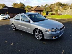 2004 VOLVO S60 R .only 88.000 miles, . only 1 in N.Ireland....300bhp 4 wheel drive . .NOT M3 M5