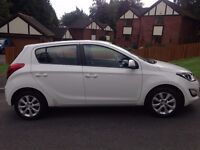 Hyundai i20 in good condition. Economical and would make an ideal first car