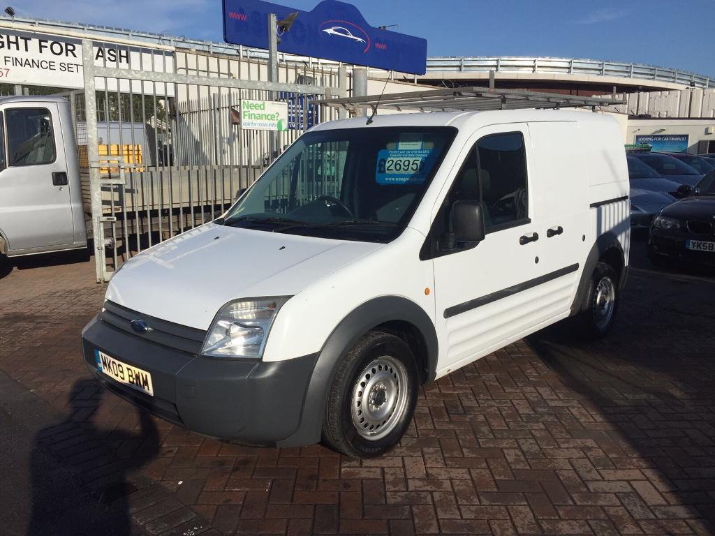 2009 09 FORD TRANSIT CONNECT VAN TDCI ONE COMPANY OWNER SUPERB COND AND DRIVE LONG MOT