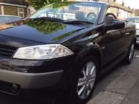"""""URGENT SALE""""MINT 2005 CONVERTIBLE MEGANE-1 YEAR MOT-2 OWNERS-FULL SERVICE HISTORY-BARGAIN!!!"