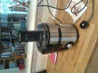 onn whole fruit stainless steel juicer