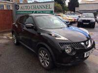 Nissan Juke 1.5 dCi Tekna 5dr (start/stop)£10,295 p/x welcome TOP OF THE RANGE MODEL!!!