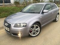 2006 Audi A3 Sportback Quattro 2.0 Tdi 140 6 speed # cruise # 18 inch alloys # Cheap insurance