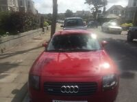 Audi TT Quattro Coupe, LHD, Very well maintained. Great driving car.