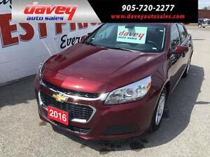 2016 Chevrolet Malibu Limited LT BLUETOOTH, ALLOY WHEELS, MP3...