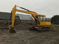 Digger Excavator jCB 806C TIDY and TIGHT
