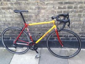 Reynolds 853 steel frame professional road/sprint bike M/L - Campagnolo