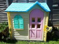 Reduce!Little tikes play house