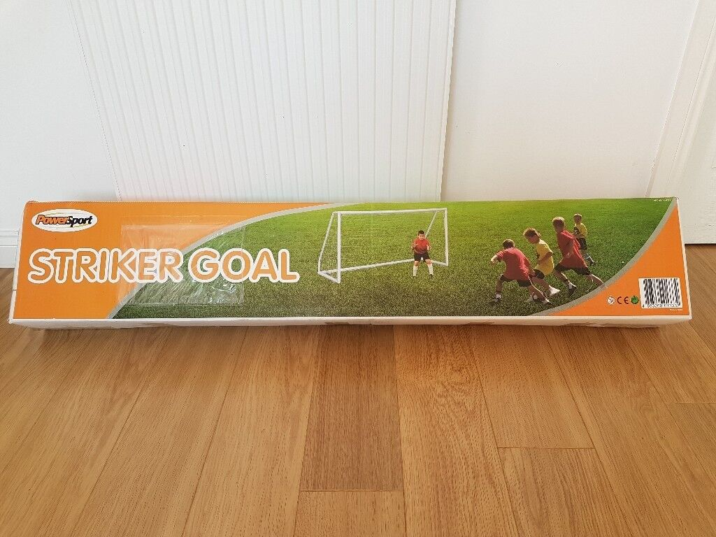 Buy a New 8ft x 4ft Football Goal & get a football FREE!