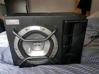 Subwoofer with built in amp