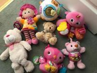 Large bundle of baby toys excellent - Lamaze, Vtech, fisher price etc