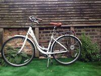 Vintage Style Viking Paris Ladies Hybrid Bike