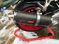 Kawasaki zx6r G, zx6r J, zx636 ap1 power tech race exhaust