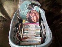 Vinyl records - singles and LP's