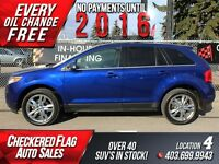 2013 Ford Edge Limited-AWD-LTHR-NAVI-PANO ROOF