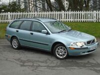 2003 (53) Volvo V40 1.8 S | FULL SERVICE HISTORY | LONG MOT| BLACK LEATHER | ESTATE |