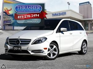 2014 Mercedes-Benz B-Class LEATHER, SUNROOF, MORE!!!!