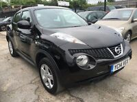 Nissan Juke 1.6 16v Visia 5dr FREE 12 MONTH WARRANTY,NEW MOT, FINANCE AVAILABLE, P/X WELCOME