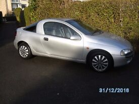Vauxhall Tigra Silver 1.4 Coupe