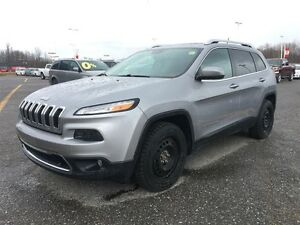 2014 Jeep Cherokee LTD w NAVI!