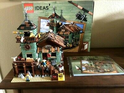 LEGO 21310 IDEAS Old Fishing Store  100% Complete w/ Manual & Box Great Set!!