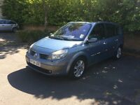 2004 RENAULT GRAND SCENIC AUTOMATIC 7 Seater very low mileage working aircon and leather seats
