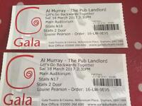 Two tickets for Al Murray