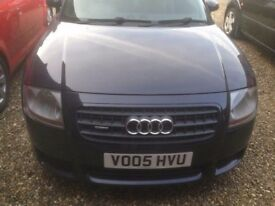 Audi TT 3.2 start & drives well 8month MOT .VERY NIPPY Dark Blue Black look at night