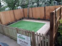 Turfing Paving Fencing Artificial Grass Decking