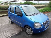 WANT A SMALL MPV WELL CHECK THIS ONE OUT..SUZUKI WAGON R WITH ONLY 77K MILES..1298 CC ENGINE..CHEAP