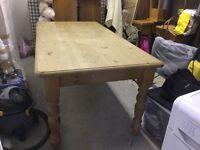 Farmhouse pine Kitchen 6ft table