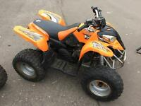 Polaris predator 90cc kids quad with reverse