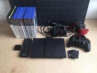 PlayStation 2 PS2 + games