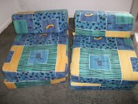 Two single bed chairs