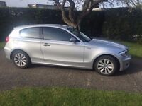 BMW 1 Series 58000miles Serviced and MOT. Drives well.
