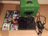 XBOX ONE- Comes with games, controller, original box and more...