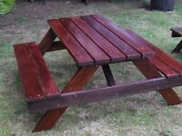 Garden Picnic Bench Children's