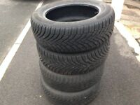 16 inch tyres Continental Winter Contact TS 850 205/ 55 R16 91 H