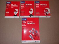 Bond 11+ Books Maths - EXCELLENT CONDITION