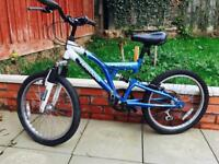 "Boys bike 20"" wheels and 6 gears in excellent condition"