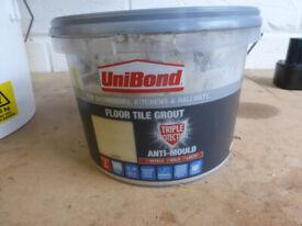 UniBond Floor Tile Grout Beige (Used)