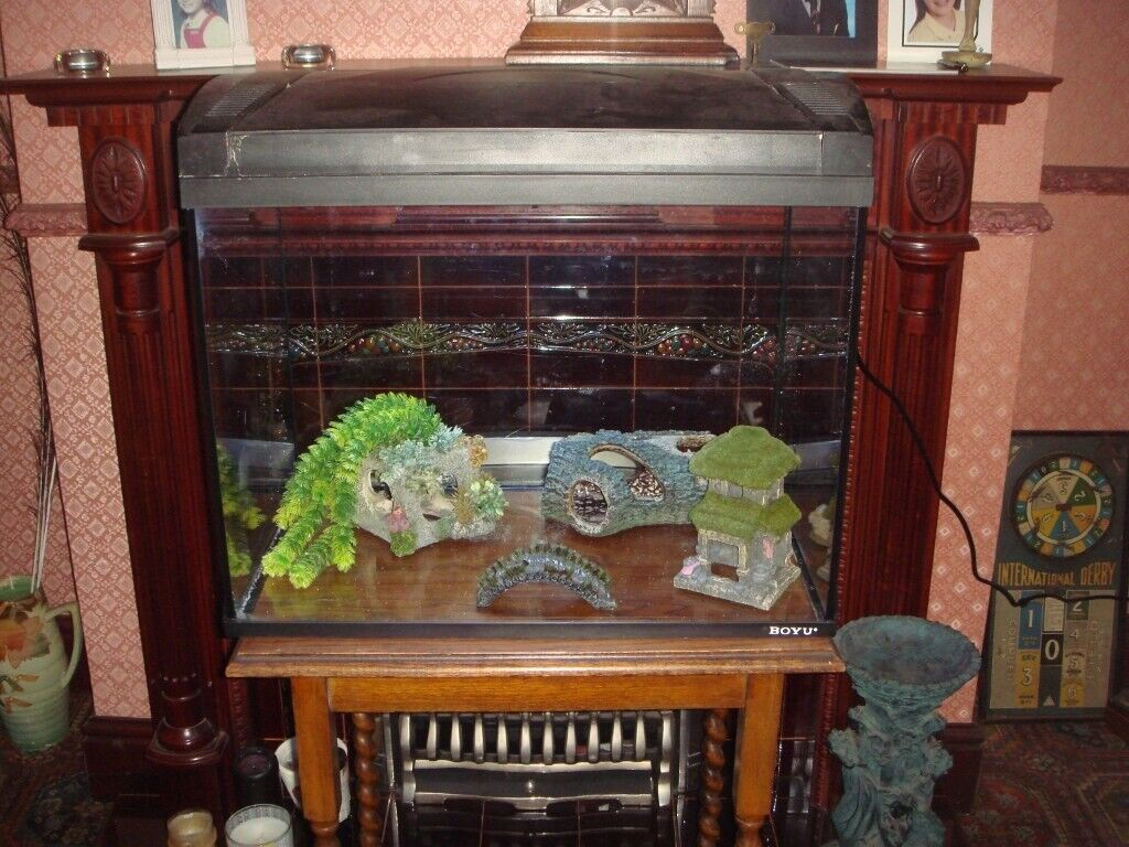 FISH TANKS TIMES THREE- CABINET-EXTRA PARTS | in Coventry, West Midlands |  Gumtree